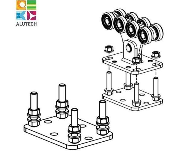 Alutech SGN.01.200 регулировочная площадка
