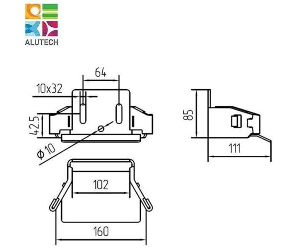 Alutech SGN.02.420 улавливатель
