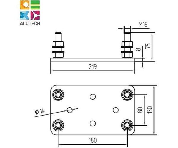Alutech SGN.02.200 регулировочная площадка